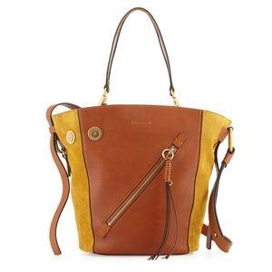 Chloe Myer Medium Leather & Suede Tote Bag
